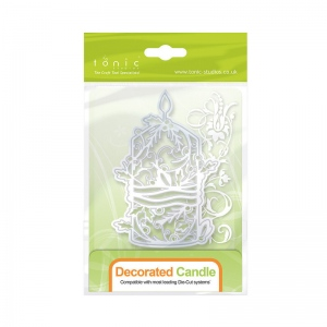 Tonic Studios Faith Rococo Range - Decorate Candle - 1282E
