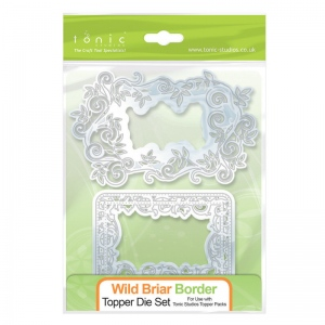 Tonic Studios Topper Die Set - Wild Briar Border - 165E