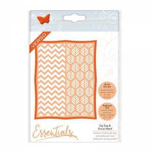 Tonic Studios Framed Screens - Zig Zag & Floral Motif - 1446E