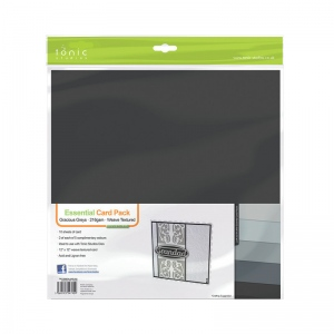 Tonic Studios Essential Card Pack - Gracious Grey 216GSM - 790E