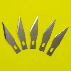 Tonic Studios 5 Spare Blades for Kushgrip Art Knife - 204E