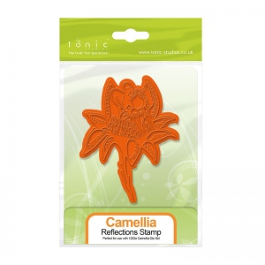 Tonic Studios Fairy Reflection - Camillia Stamp Set - 1302E