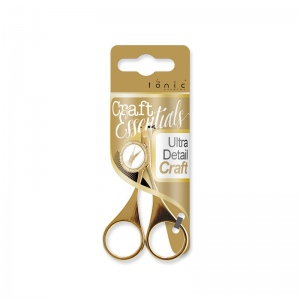 Tonic Studios Ultra Detail Craft Scissor Gold - 1666E