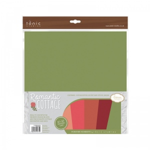 Tonic Studios Romantic Cottage Plain Paper Pack - 774E