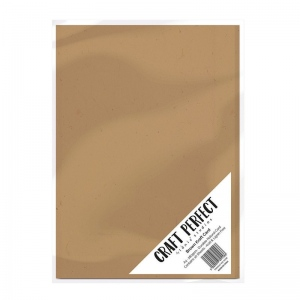 Brown Kraft Card A4 280GSM - 9558E - Craft Perfect - Brown Kraft Card