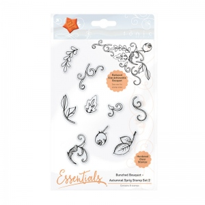 Tonic Studios - Bunched Bouquet Autumnal Sprig Stamp Set 2 - 1364e