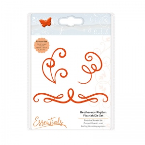 Tonic Studios Essentials - Flowers & Flourishes - Beethoven's Rhythm Flourish - 1759E
