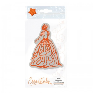 Tonic Studios Essentials - Belle Boutique Stamp Set - Sweet Sashay - 1208E
