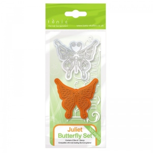 Tonic Studios Rococo Die & Stamp Set - Butterfly Juliet - 1042e