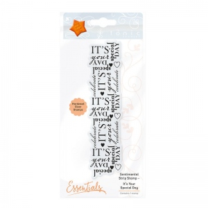 Tonic Studios Sentimental Strip Stamp Set - Itäó»s Your Special Day - 1365E