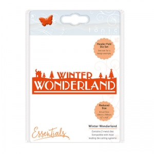 Tonic Studios Christmas Header Fold - Winter Wonderland - 1410E