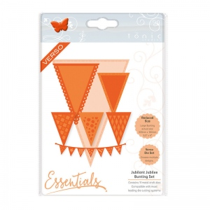 Tonic Studios Essentials - Beautiful Bunting Jubilant Jubillee - 1798E