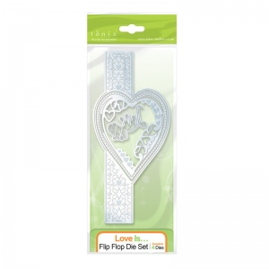 Tonic Studios Flip Flop Die Set - Love is... - 1117E