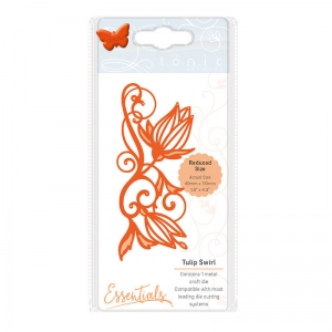 Tonic Studios Essentials - Flowers & Flourishes - Tulip Twirl - 1724E