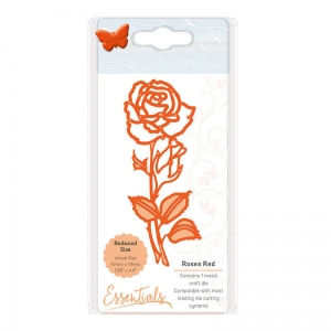 Tonic Studios Essentials - Flowers & Flourishes - Roses Red - 1726E