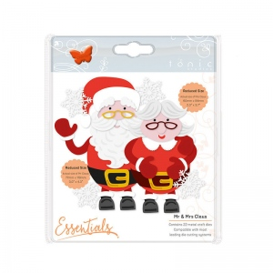 Tonic Studios Essentials - Christmas Buildables - Mr & Mrs Claus - 1750E