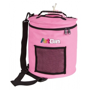 Yarn Drum, Knitting And Crochet Tote Bag - Pink
