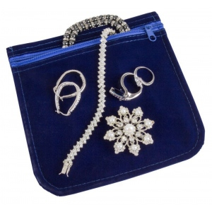 Anti Tarnish Jewelry Bag   6 X 6