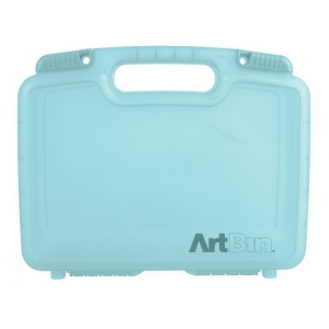 Artbin 12 Inch Quick View Carrying Case Deep Base   Aqua