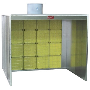 Paasche FABF Walk-In Spray Booth