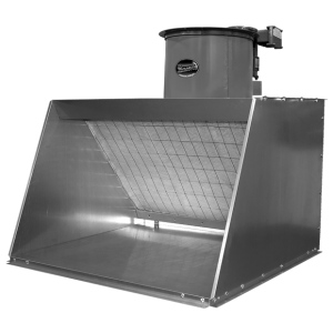 "Paasche BBF Bench Top Spray Booth: Explosion Proof, 24"" W x 30"" D x 24"" H"