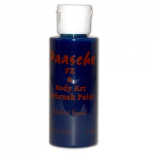 Paasche Model TI Airbrush Temporary Tattoo Paint: Blue, 2 Oz.