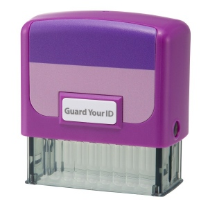 Guard Your ID Medium Stamps