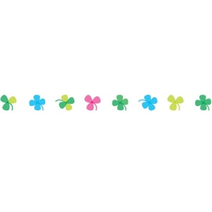 Decoration Tape - Clovers