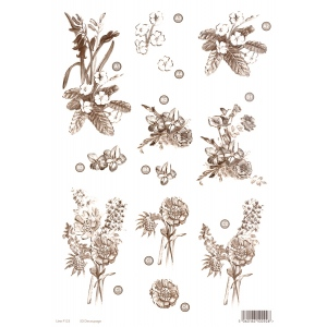 Craft UK Copper Flowers -Flower Bunches