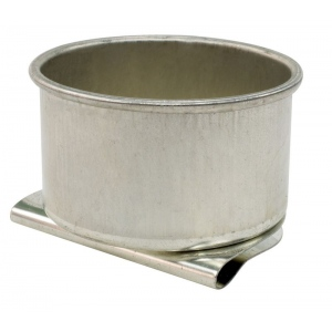 "Heritage Arts™ Aluminum Palette Cup Single: Metal, 1 1/2"", Cup, (model TX30), price per each"