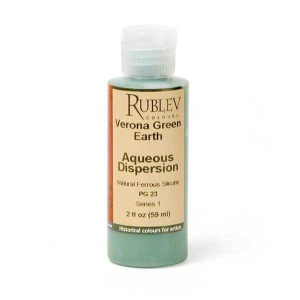 Rublev Colours Verona Green Earth (4 fl oz) - Color: Green