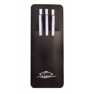 Alvin® Draft-Line Mechanical Pencil Set: Black/Gray