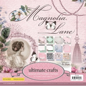 Paper Pad 6 X 6 (24 pages ) - Magnolia Lane
