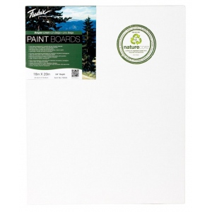 Fredrix® PRO Paint Boards™ Belgian Linen Paint Board