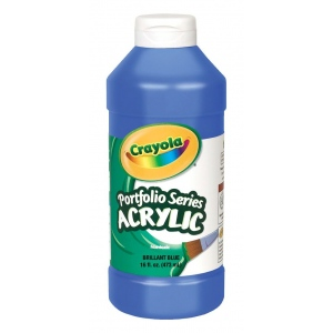Crayola® Portfolio Series Acrylic Paints 16 oz Bottle