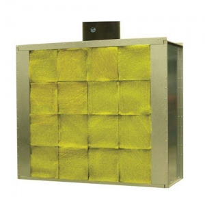 Paasche 10' W x 8' H Filter Chamber Spray Booth
