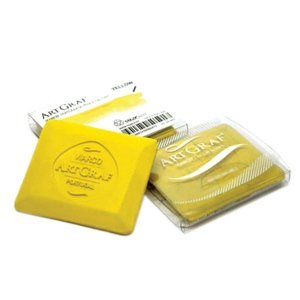 Global Art Materials™ Graphite Disc Yellow: Yellow, (model 500591), price per each