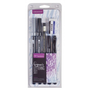 Tombow® Beginner Lettering Set: Calligraphy, (model 56190), price per set