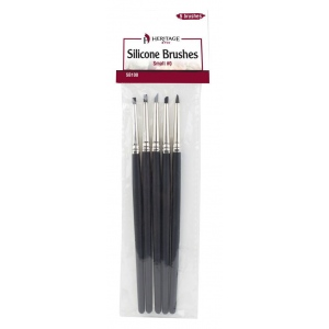 Heritage Arts™ Silicone Brush Sets