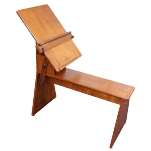 Sienna Plein Air Art Bench by Craftech