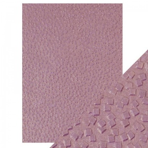 Craft Perfect Falling Glitter - Hand Crafted Embossed Cotton Paper- A4 - 150 gms/55 lbs - 9810e