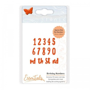 Tonic Studios Tonic Studios Essentials - Birthday Numbers - 1592E