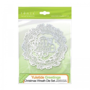 Tonic Studios Christmas Wreath Die Set