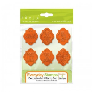 Tonic Studios Tonic Studios Decorative Mini - Everyday Stamp Set - 1162E