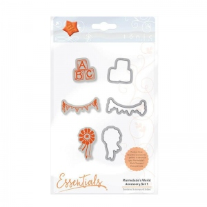 Tonic Studios Tonic Studios Marmalade's World Stamp Set - Accessory Set 1 - 1349E