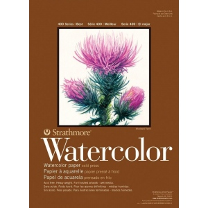 Strathmore® 400 Series Cold Press Watercolor Sheets