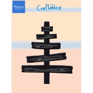 Marianne Design : Craftables Dies - Wooden Tree