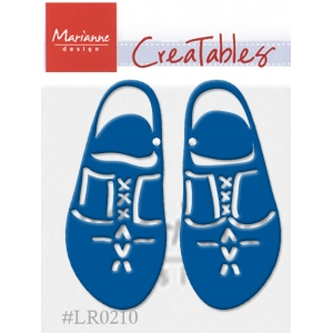 Marianne Design : Creatables Dies - Wooden Shoes