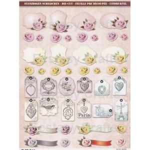 Reddy Pre Cut Sheets - Roses And Decorations