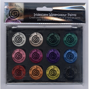 Creative Expressions Cosmic Shimmer Iridescent Watercolour Pallet Set  - Carnival Brights